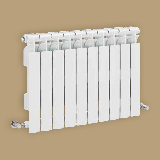 Acquatic extra Die-cast aluminium radiator