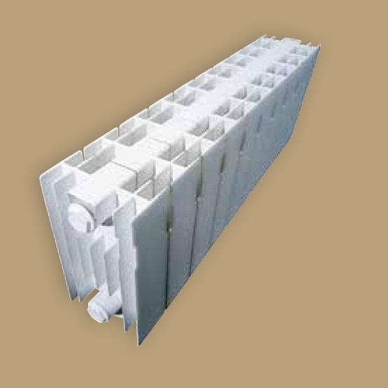 Star 300 Die-cast aluminium radiator