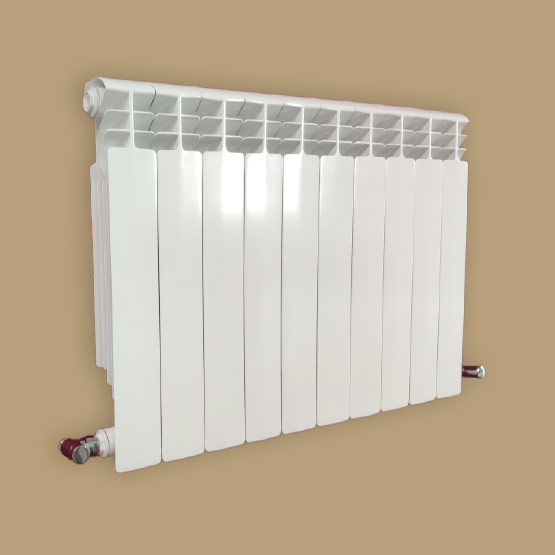 Super 500 Die-cast aluminium radiator